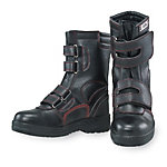 Safety Shoes Half Length Boots Velcro Type