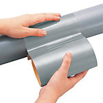 Piping Identification Tape Gray