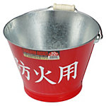 Galvanized Bucket for Fire Protection