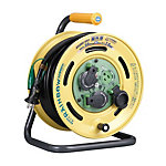 BE-30KC Rainbow Reel (Outdoor Use), 30 m, Earthed with Overload Leakage Circuit Breaker